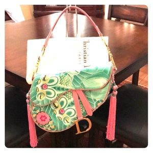 Limited Edition Koi Saddle Bag 💚💗💚